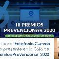 """La """"bailaora"""" Estefanía Cuevas estará presente en la Gala de los Premios Prevencionar 2020"""