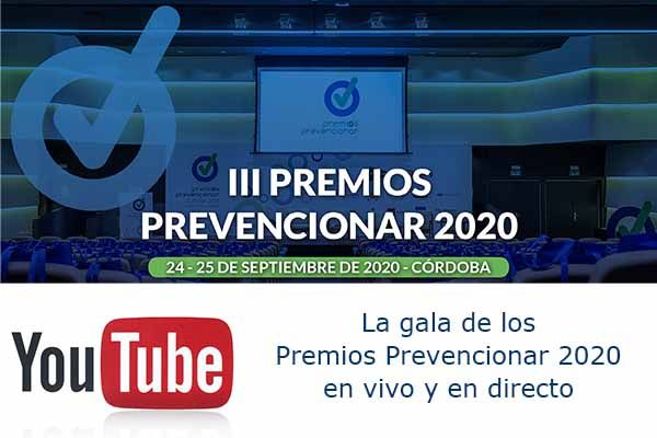 Premios Prevencioanr - Youtube