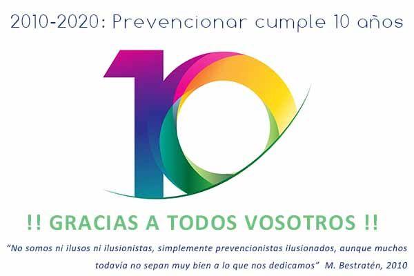 prevencionar 10 años