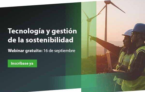 Retos de la tecnología para la gestión de la sostenibilidad #webinar