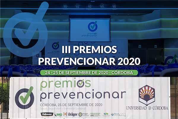 100 Directivos se darán cita en Córdoba en la Gala de los Premios Prevencionar