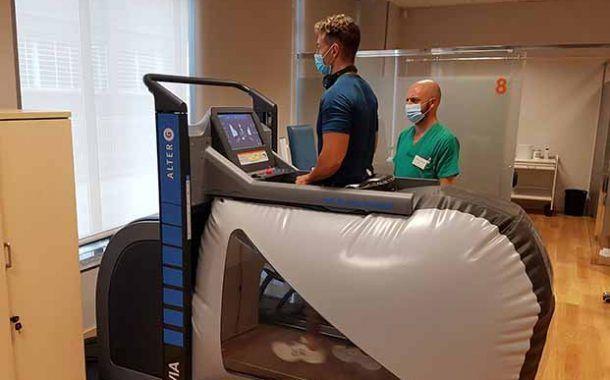 umivale incorpora los últimos avances en rehabilitación: tecnología antigravedad y monitorización digital