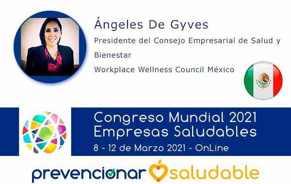 Ángeles De Gyves participará en el Congreso Mundial de Empresas Saludables