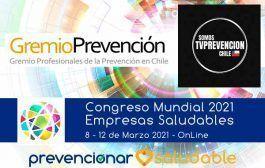 Gremio Prevención de Chile se suma al Congreso Mundial de Empresas Saludables