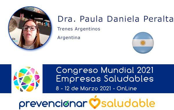 La Dra. Paula Daniela Peralta participará en el Congreso Mundial de Empresas Saludables