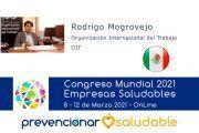 Rodrigo Mogrovejo participará en el Congreso Mundial de Empresas Saludables