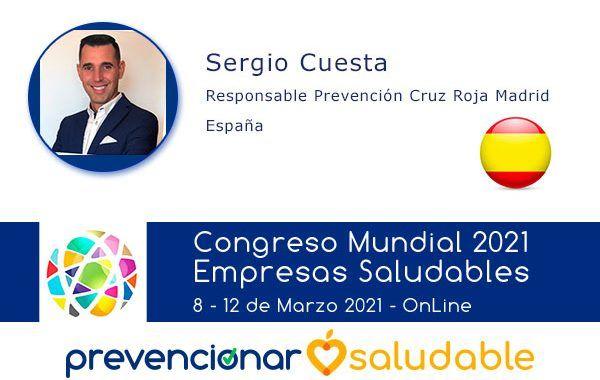 Sergio Cuesta participará en el Congreso Mundial de Empresas Saludables