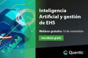 Inteligencia artificial: redefiniendo la gestión de EHS #webinar