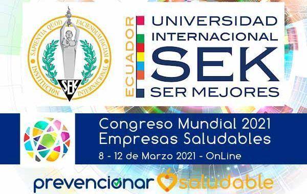 La Universidad Internacional SEK Ecuador se suma al Congreso Prevencionar Empresa Saludable