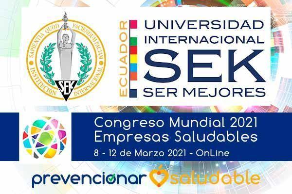 La Universidad Internacional SEK Ecuador se suma al Congreso Mundial de Empresas Saludables