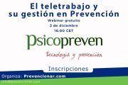 El teletrabajo y su gestión en Prevención #webinar