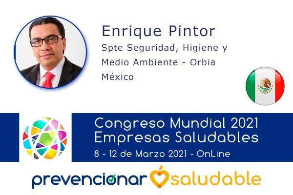 Enrique Pintor participará en el Congreso Mundial de Empresas Saludables