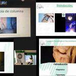 Imagen de diversas intervenciones quirúrgicas mostradas en la formaciónweb
