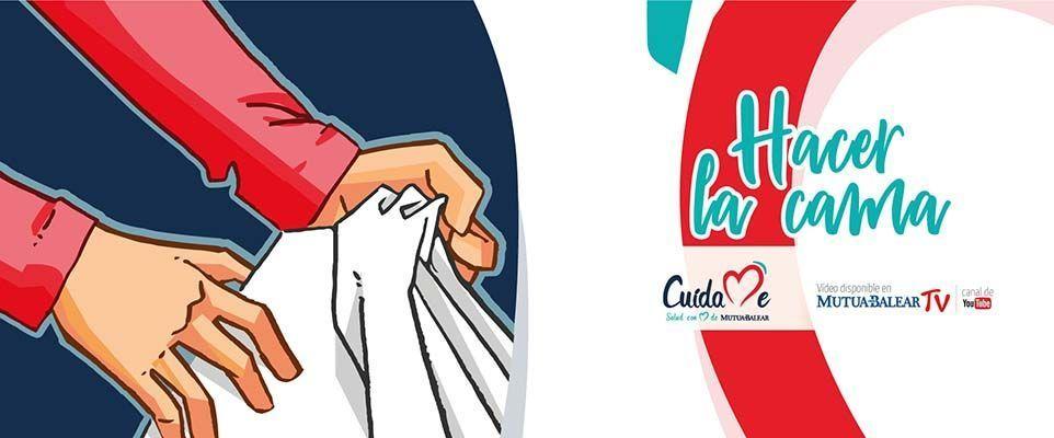 Mutua Balear lanza una campaña para que su plantilla aprenda a cuidar la salud durante las tareas del hogar