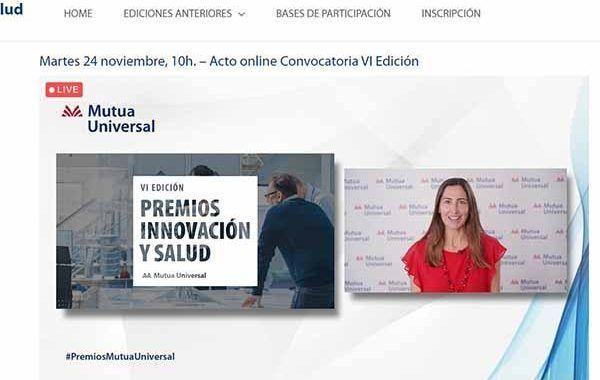 Mutua Universal convoca los VI Premios Innovación y Salud