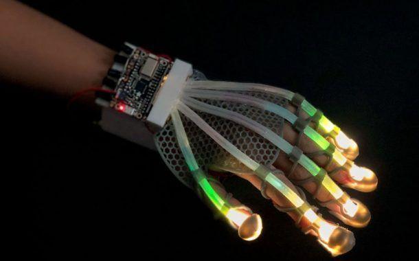 ¿Este guante finalmente te permitirá tocar cosas en realidad virtual?