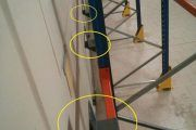 Diseñan un tope para el almacenaje de pallets que previene los accidentes laborales