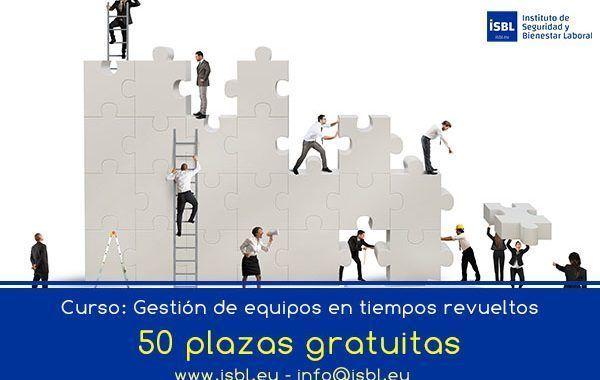 Curso: «Gestión de equipos en tiempos revueltos» – 50 plazas GRATIS