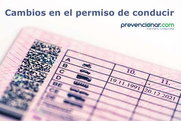 Cambios en el permiso de conducir ¿quieres conocerlos?