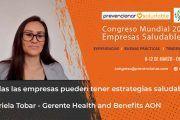Congreso Mundial Empresa Saludable – Entrevista a: Gabriela Tobar Jiménez