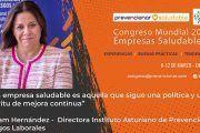 Congreso Mundial Empresa Saludable – Entrevista a: Miryam Hernández Fernández
