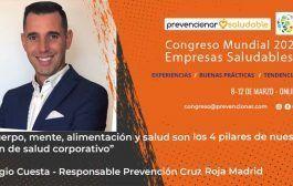 Congreso Mundial Empresa Saludable – Entrevista a: Sergio Cuesta