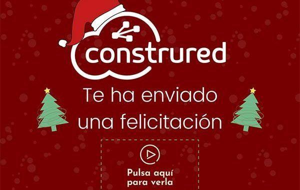 Construred te ha enviado una felicitación