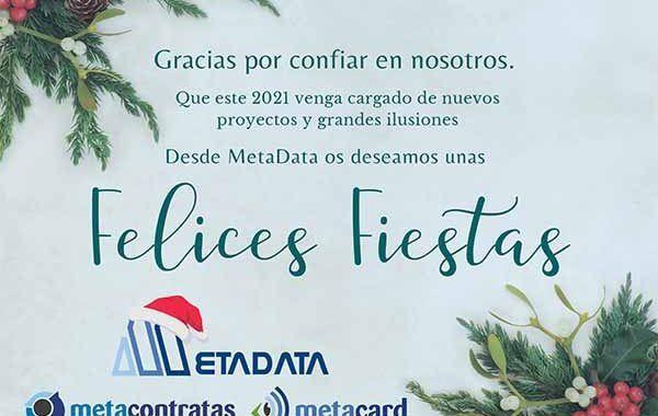 Desde MetaData os deseamos una Felices Fiestas