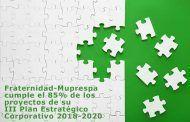 Fraternidad-Muprespa cumple el 85% de los proyectos de su III Plan Estratégico Corporativo 2018-2020