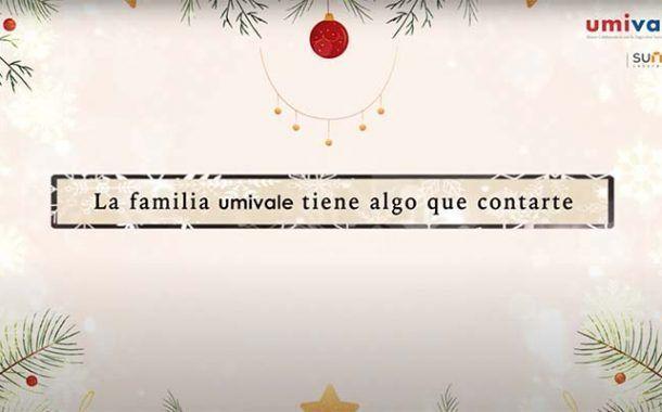 La familia Umivale te desea Feliz Navidad