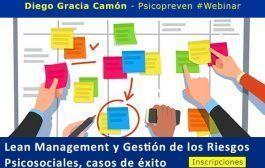 Lean Management y Gestión de los Riesgos Psicosociales, casos de éxito #webinar
