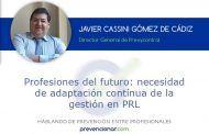 Profesiones del futuro: necesidad de adaptación contínua de la gestión en PRL