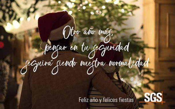 SGS te desea Feliz año y felices fiestas