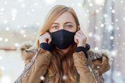 La mascarilla en invierno, ¿por qué se humedece más?