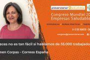 Congreso Mundial Empresa Saludable – Entrevista a: Carmen Corpas