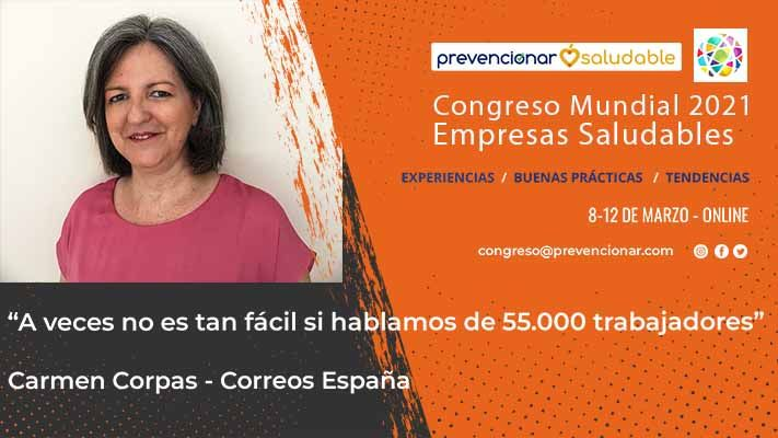 Carmen Corpas - Congreso Empresas Saludables