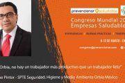 Congreso Mundial Empresa Saludable – Entrevista a: Enrique Pintor
