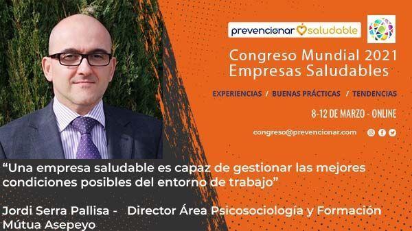 Cartel Congreso Mundial Jordi Serra