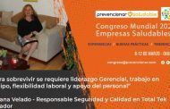 Congreso Mundial Empresa Saludable – Entrevista a: Roxana Velado