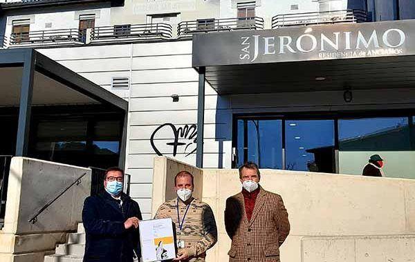 MC MUTUAL distingue a la Residencia San Jerónimo de Estella por su apuesta por la prevención de riesgos laborales