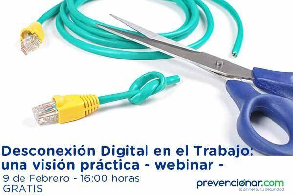 Desconexión Digital en el Trabajo: una visión práctica - webinar -