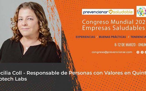 Cecilia Coll participará en el Congreso Mundial de Empresas Saludables
