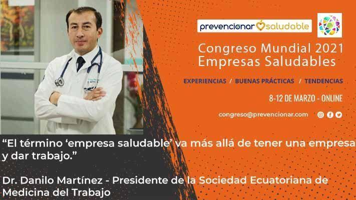 Cartel Congreso Mundial - Danilo Martínez