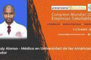 Freddy Alonso participará en el Congreso Mundial de Empresas Saludables