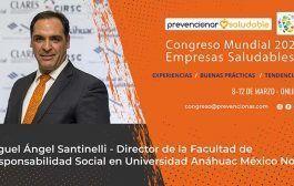 Congreso Mundial Empresa Saludable – Entrevista a: Miguel Ángel Santinelli