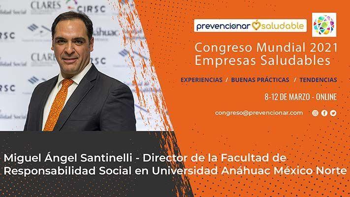 Cartel Congreso Mundial M Angel Santinelli