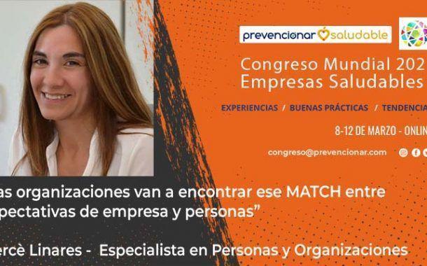 Congreso Mundial Empresa Saludable – Entrevista a: Mercè Linares