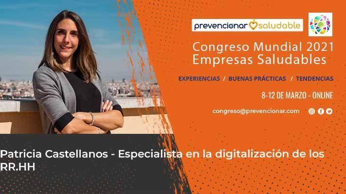 Patricia Castellanos participará en el Congreso Mundial de Empresas Saludables