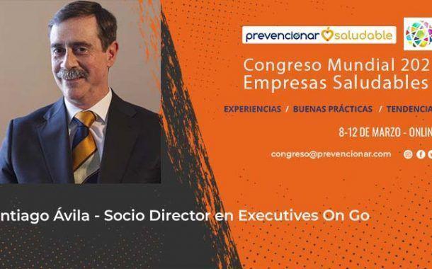 Santiago Ávila participará en el Congreso Mundial de Empresas Saludables