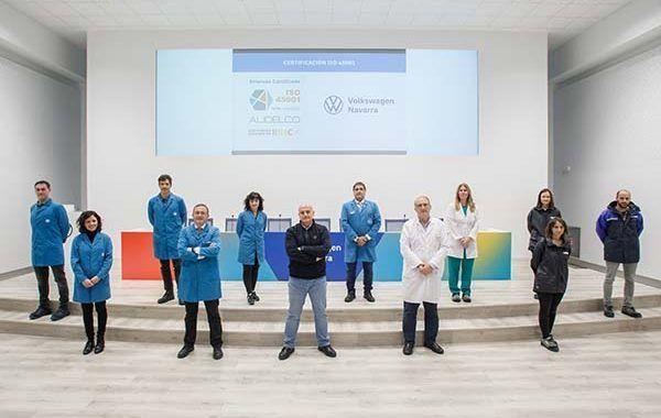Volkswagen Navarra obtiene la certificación ISO 45001